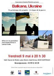 affiche balkans ukraine