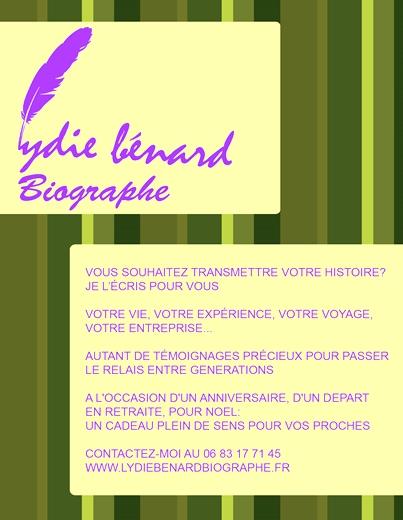 Lycie Bénard biographe