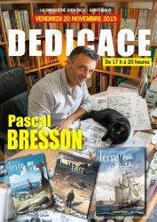 Copie de Affiche dédicace Pascal Bresson 20 novembre