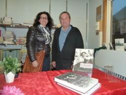 Loic Josse en signature à La librairie de Saint pierre et Miquelon